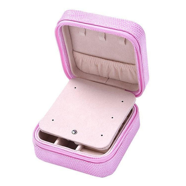 Pink Hippo Store Neo Jewellery Box Pink