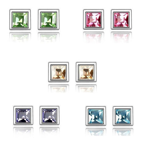 Pink Hippo Store Weekday stud earrings Five Pairs Multi Color
