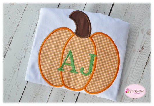 Personalized Pumpkin Tee {Boys} - Little Miss Petals