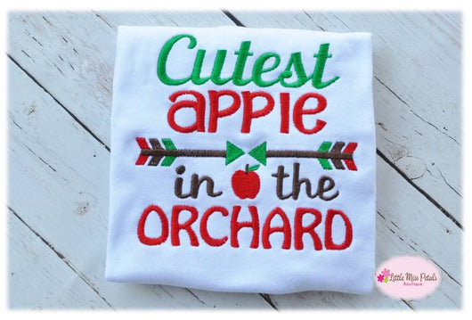 Cutest Apple in the Orchard - Little Miss Petals