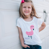 Personalized Flamingo Tee