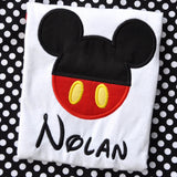 Mickey Personalized Shirt - Little Miss Petals - 1