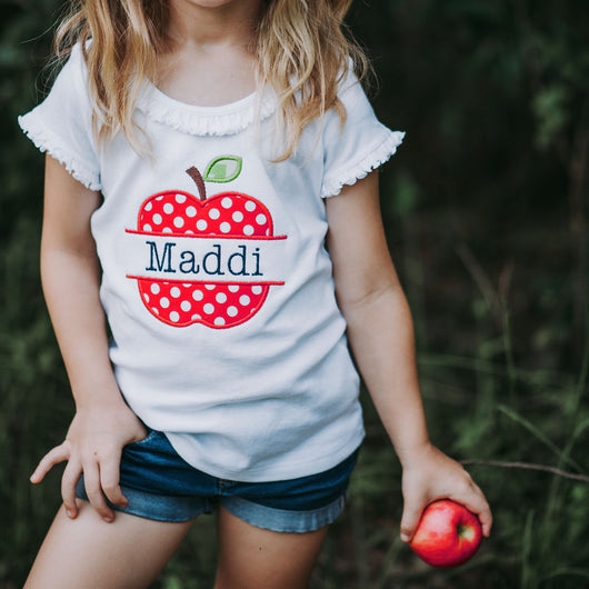 Apple Shirt | Personalized