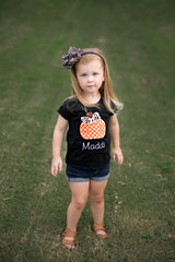 Personalized Pumpkin Tee | 3 Designs
