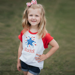 SALE | Personalized Star Raglan