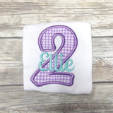 Personalized Birthday Tee