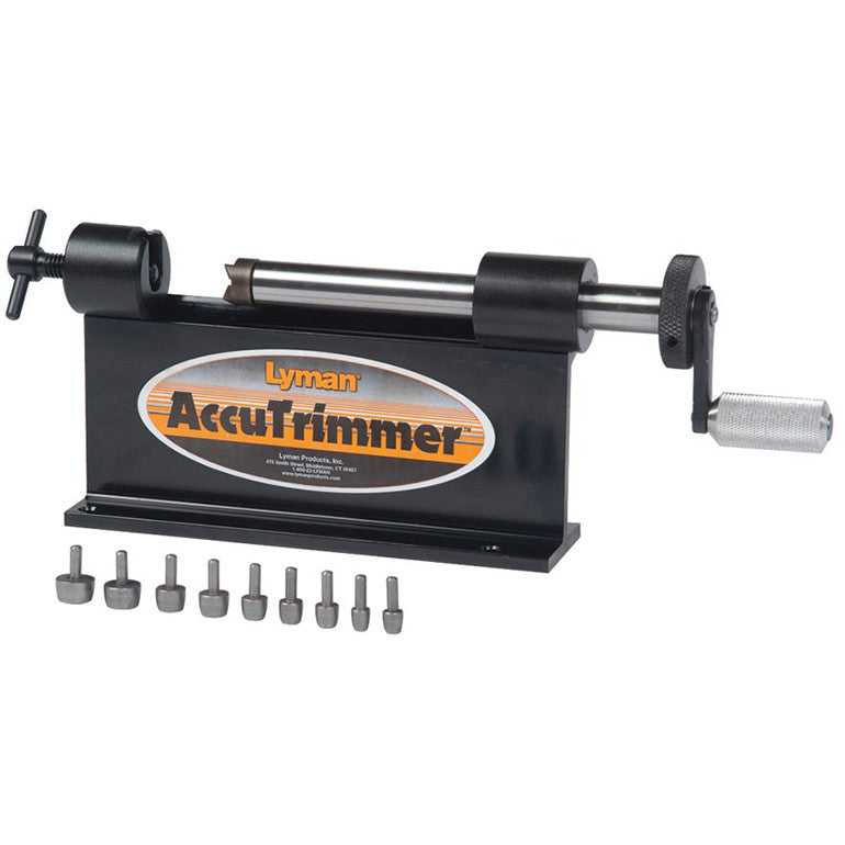 Lyman - AccuTrim Case Trimmer with Pilots