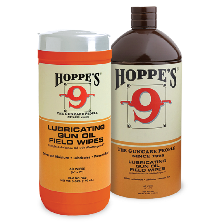 Hoppes Lubricating Oil Field Wipes