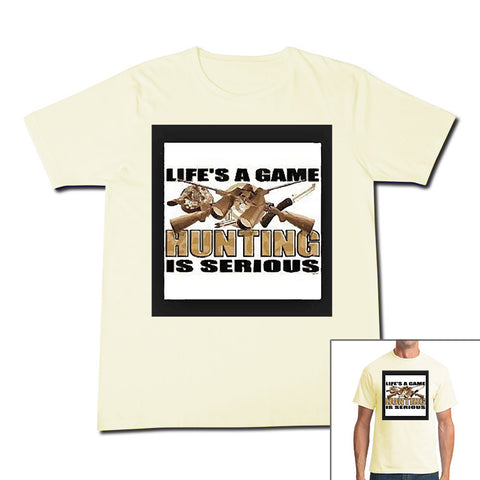 Printed T-Shirt Life's a Game