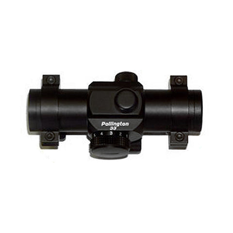 Pollington Pro 33 Red Dot (With Bow Mounting Bracket)