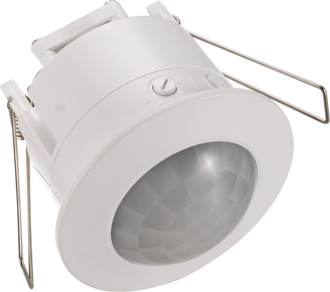 Recess Mounted Pir & Microwave Motion Sensors