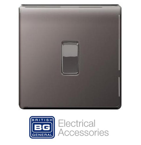 BG Nexus Screwless - Black Nickel