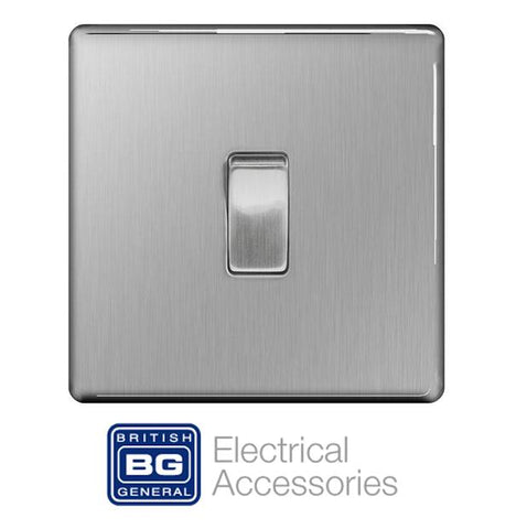 BG Nexus Screwless Flat Plate Switches & Sockets