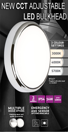 Coulour adjustable LED Bulkheads
