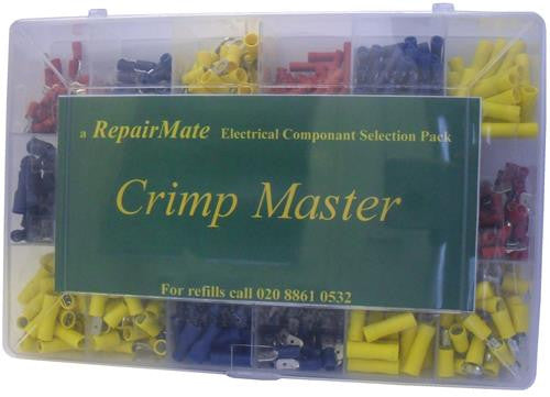 05378 - RepairMate Selection Pack Crimp Master- all the coloured crimps - Lampfix - sparks-warehouse