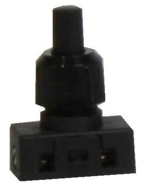 05387 - Mini Press Switch Standard Black 2A - Lampfix - sparks-warehouse