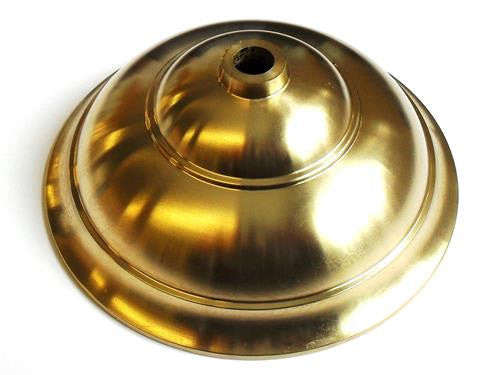 05404 - Hampstead Cast Brass Ceiling Cup Height 48mm Ø120mm