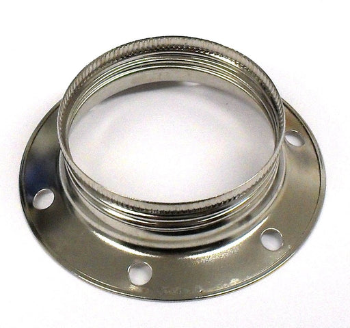 05412 Shade Ring Nickel Large (for 05742, 05410, 05060, 05428) - Lampfix - Sparks Warehouse