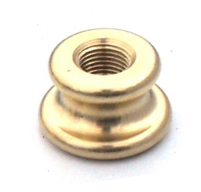 05453 - Shaped Coupler, Brass M10 Height 15mm Ø25 - LampFix - sparks-warehouse