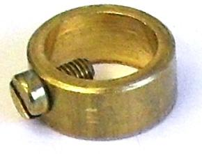 05502 Brass Ring with Screw 10mm - Lampfix - sparks-warehouse