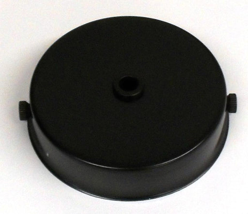 05677 Ceiling Rose Black 85mm x 21mm - Lampfix - Sparks Warehouse
