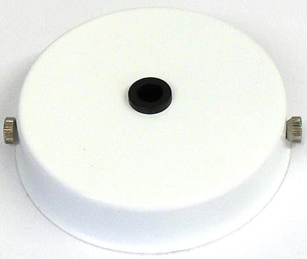 05678 - Ceiling Rose White for Metalbrite Pendant 85mm x 21mm - LampFix - sparks-warehouse
