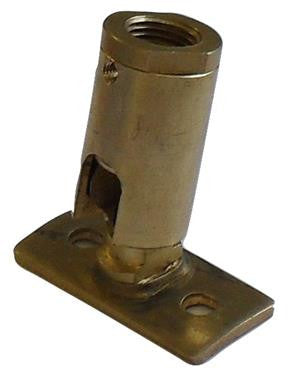 05825 - Brass Knuckle Joint (Batten) 10mm - LampFix - sparks-warehouse