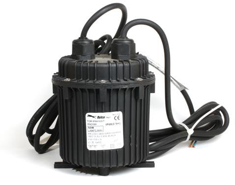05907 - IP68 12V Transformer Black 50W Cylinder Shape - LampFix - sparks-warehouse