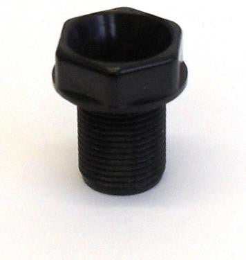 05923 - Pottery Nipple 13mm Black - LampFix - sparks-warehouse