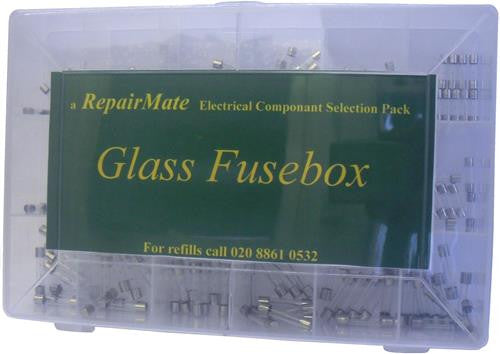 05933 - RepairMate Selection Pack 180pc - Glass Fusebox - LampFix - sparks-warehouse