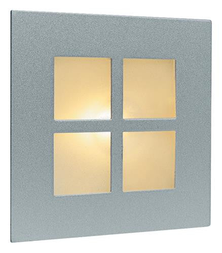Firstlight 1130SS Wall & Step Light - Satin Steel with Glass Cover - Firstlight - sparks-warehouse