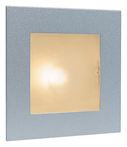 Firstlight 1131SS Wall & Step Light - Satin Steel with Glass Cover - Firstlight - sparks-warehouse