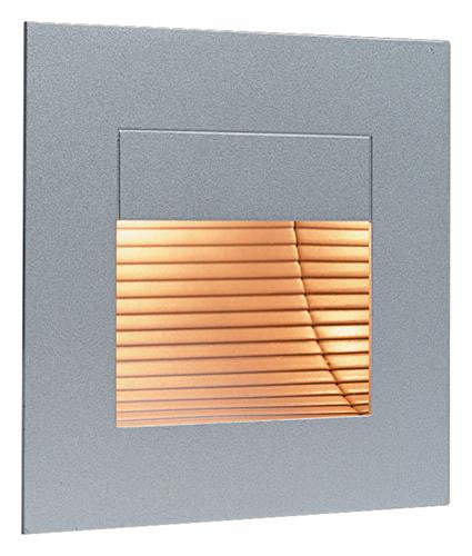 Firstlight 1132SS Wall & Step Light - Satin Steel without Glass Cover - Firstlight - sparks-warehouse