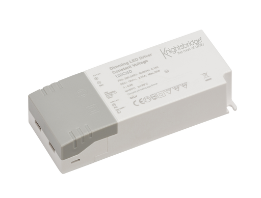Knightsbridge 12DC25D 12V 25W Dimmable LED Driver - IP20