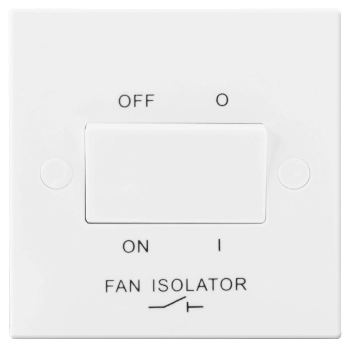BG Nexus 915 10A FAN ISOLATOR Plate Switch