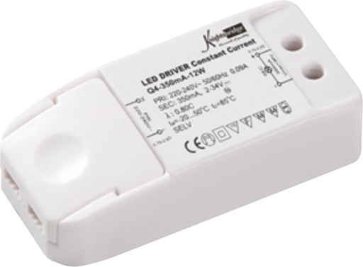Knightsbridge 1W350A LED DRIVER 350 mA 12w CONSTANT CURRENT - Knightsbridge - sparks-warehouse
