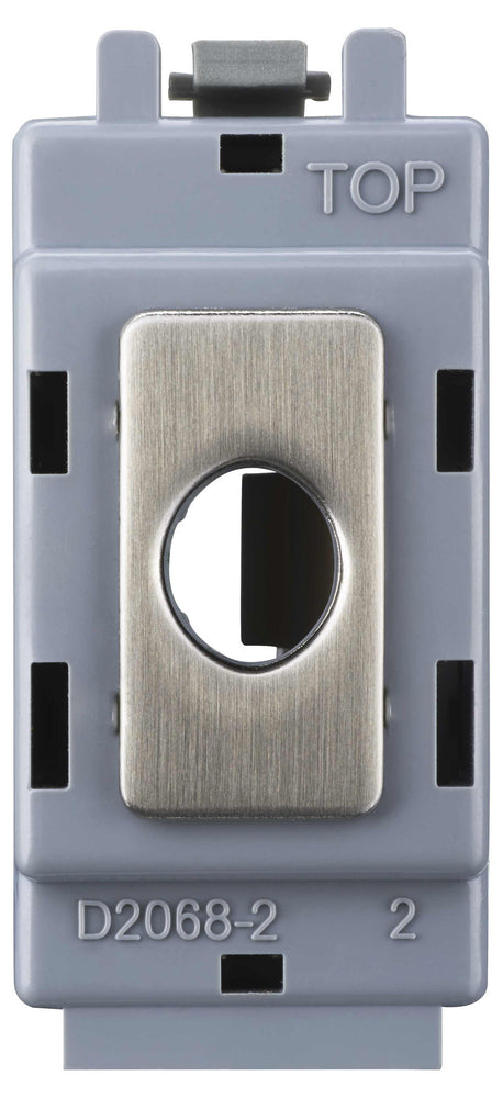 BG Nexus GBSFLEX Grid Brushed Steel FLEX OUT Module - Up To 10mm - BG - sparks-warehouse