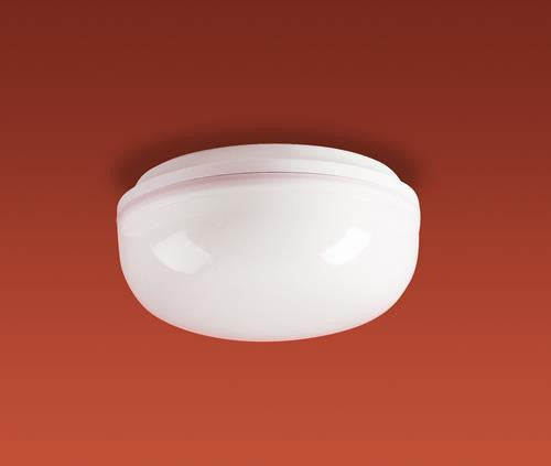 Firstlight 2092WH Finelite Flush Fitting - 100w - White Base with Opal Diffuser