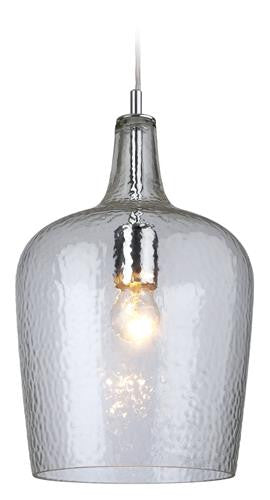 Firstlight 2301CL Glass Pendant - Chrome with Clear Glass - Firstlight - sparks-warehouse