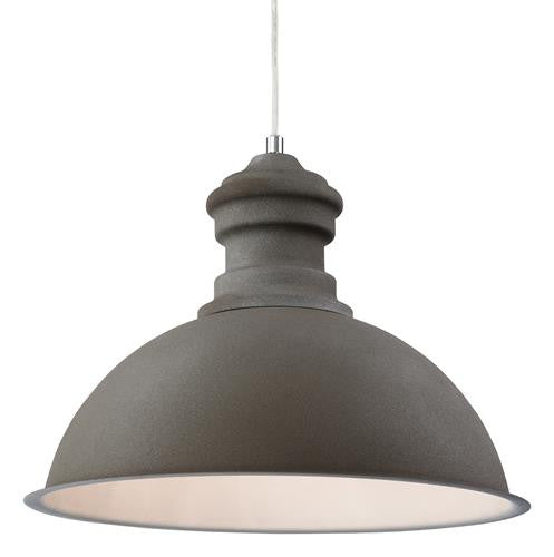 Firstlight 2307CN Aztec Pendant - Rough Sand Concrete - Firstlight - sparks-warehouse