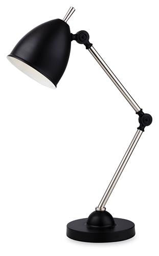 Firstlight 2310BK Bally Table Lamp - Black - Firstlight - sparks-warehouse