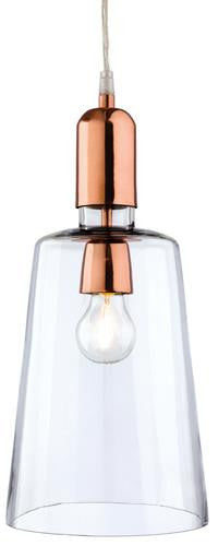 Firstlight 2350CP Craft Pendant - Clear Glass with Copper - Firstlight - sparks-warehouse