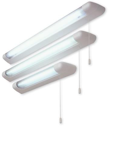 Firstlight 27655 18w Fluorescent Strip Lt (Switched) - White with Polycarbonate Diffuser - Firstlight - sparks-warehouse