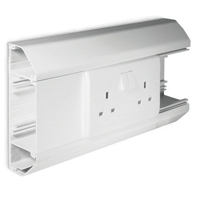 BG CM3CB DADO 3 COMPARTMENT TRUNKING BASE
