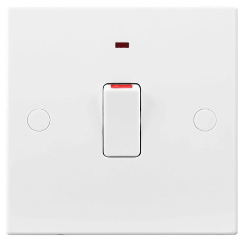 BG Nexus 931 20A Double Pole Switch FLEX Outlet With Power Indicator