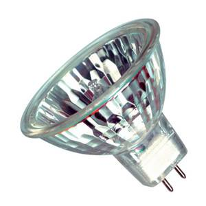 Casell M258-ALU-CA GU5.3 50W Halogen Flood 12V Aluminium 36 Deg Light Bulb - Casell - Sparks Warehouse
