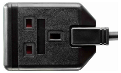 BG EXS1315B 1 Gang 5M HEAVY DUTY EXTENSION LEAD Black
