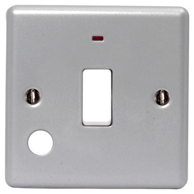 BG MC53 METAL CLAD 1 Gang Telephone Socket SLAVE - BG - sparks-warehouse