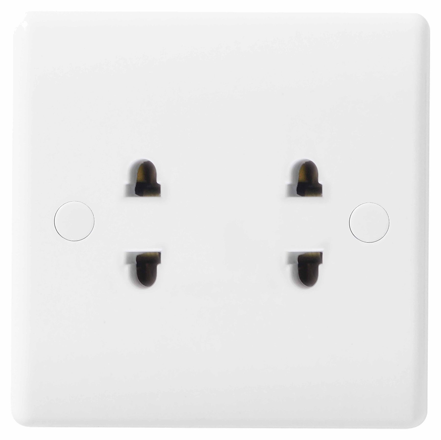 BG Nexus 898 2 Gang 2 Pin 16A Shuttered Euro Socket - BG - sparks-warehouse