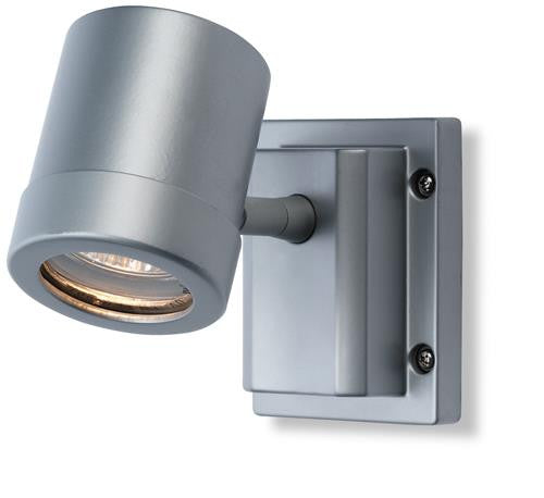 Firstlight 5501AL Aero Single Wall Light - Aluminium - Firstlight - sparks-warehouse
